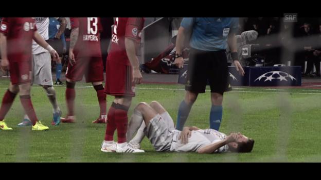 Video «Saul: Für Atletico die Gesundheit riskiert» abspielen