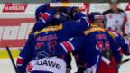 Video «Eishockey: NLA, Kloten Flyers - Fribourg-Gottéron» abspielen