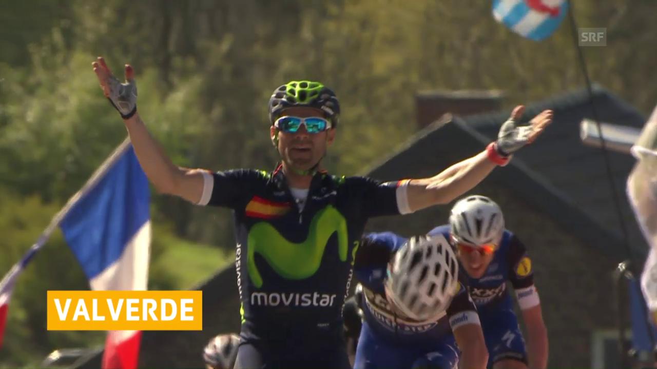 Valverde lässt sich als Rekordsieger feiern