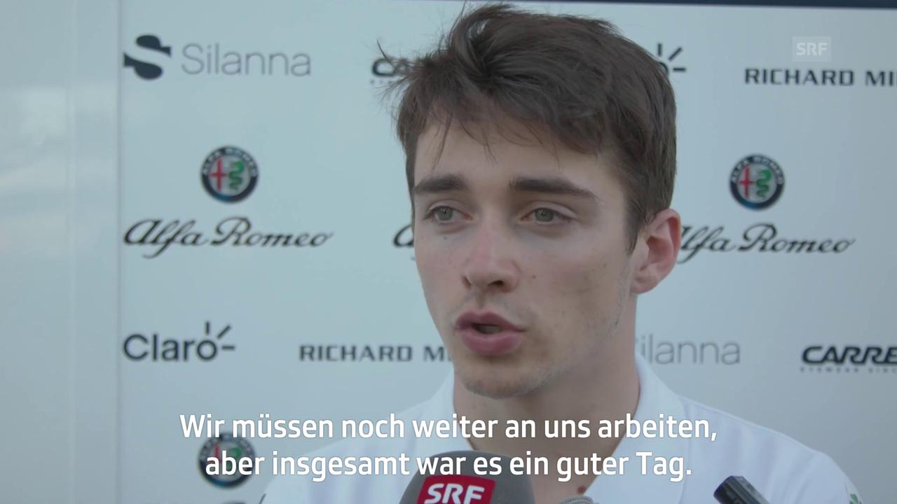 Leclerc: «Die Strecke ist nicht einfach»