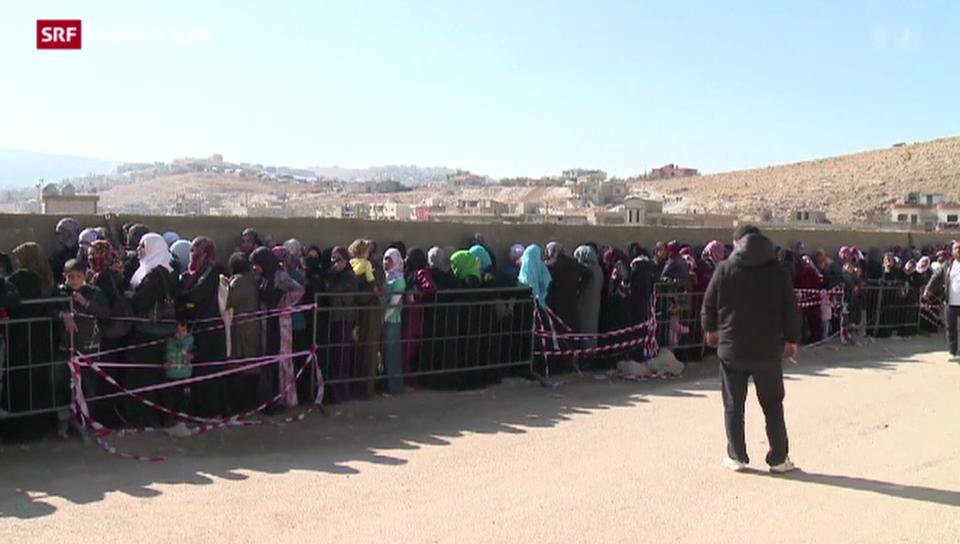 Libanon macht die Grenzen dicht