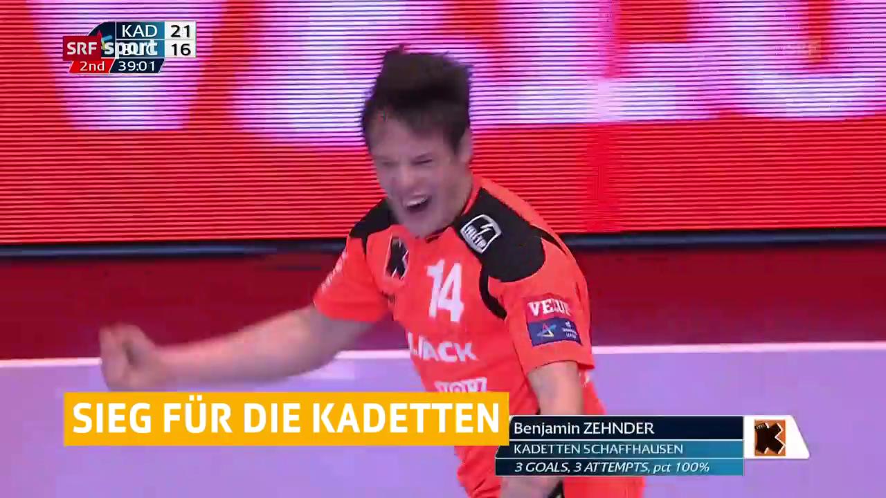 Kadetten mit Sieg zum Abschluss der CL-Kampagne