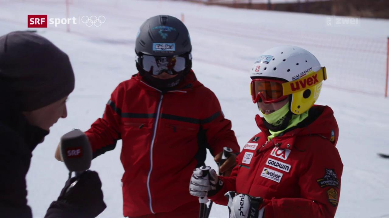 «Annyeong Adi»: Besuch in der südkoreanischen Skischule