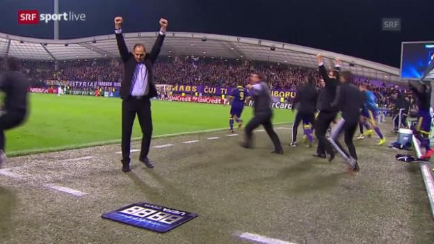 Video «Fussball: Champions League Gruppenphase, Maribor - Sporting Lissabon» abspielen