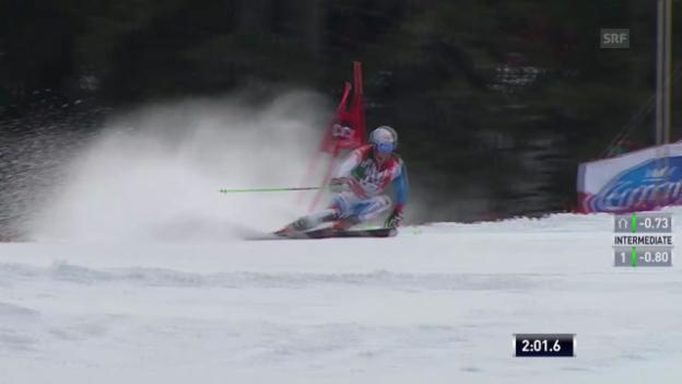 Video «Ski Alpin: Abfahrt Männer in Alta Badia, 2. Lauf von Janka («sportlive», 22.12.2013)» abspielen