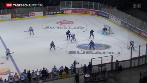 Video «Eröffnung der Eishockey-Saison» abspielen
