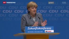 Video «Merkel warnt vor Grenzschliessung» abspielen
