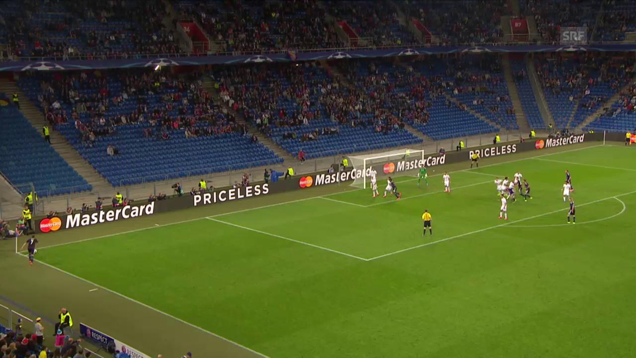 Fussball: CL-Playoff, Basel-Maccabi, Aberkanntes Tor