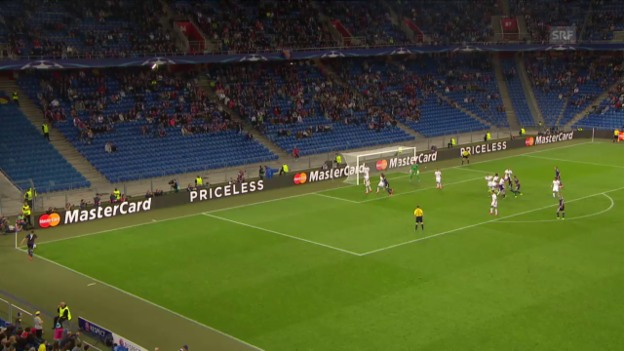 Video «Fussball: CL-Playoff, Basel-Maccabi, Aberkanntes Tor» abspielen