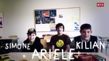 Laschar ir video «Simone, Ariele e Kilian»