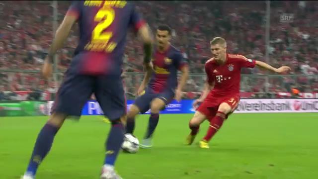 Bastian Schweinsteiger in Aktion