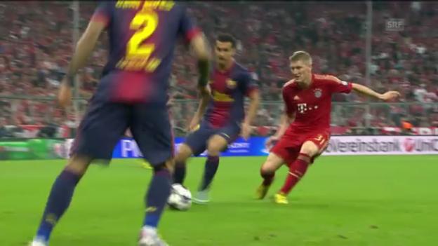 Video «Bastian Schweinsteiger in Aktion» abspielen