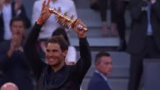 Video «Nadals Emotionen in Madrid» abspielen