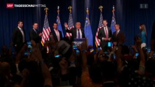 Video «Erneuter Trump-Triumph in Nevada» abspielen