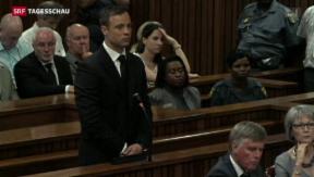 Video «Pistorius für mehrere Jahre hinter Gittern» abspielen