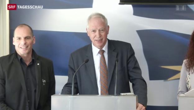 Video «De Wattewille zu Besuch in Athen» abspielen