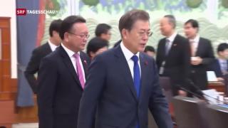 Video «Mögliche Gespräche zwischen Nord- und Südkorea» abspielen