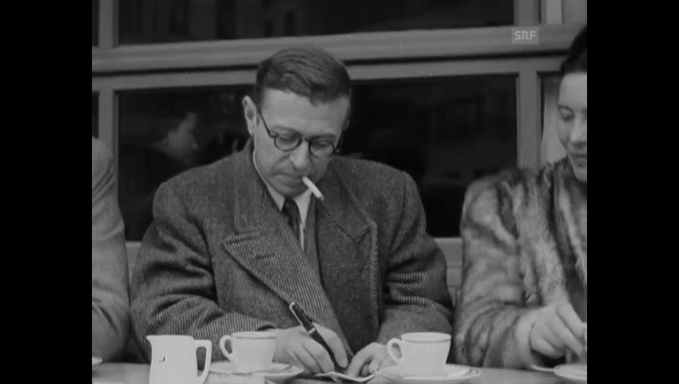 Jean Paul Sartre in Genf