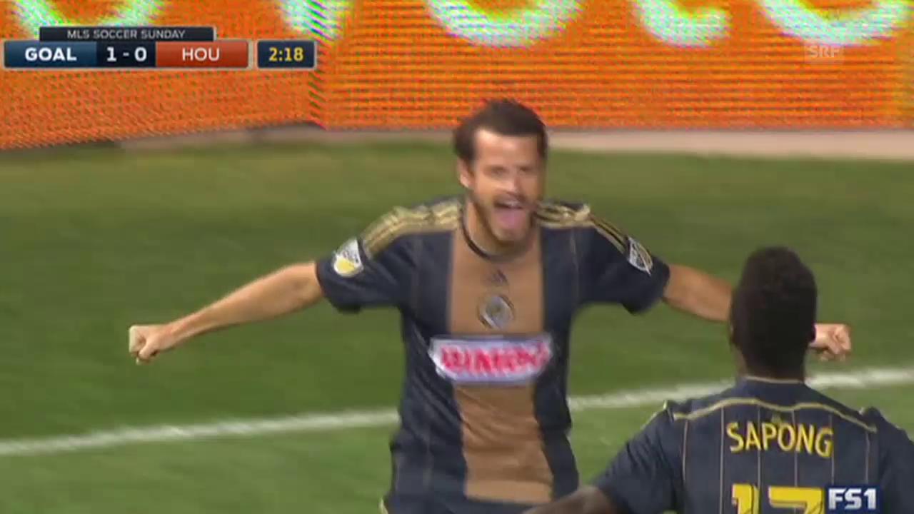 Fussball: Tranquillo Barnettas Premierentor in der MLS