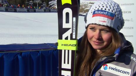 Video «Das meint Corinne Suter nach dem Rennen» abspielen