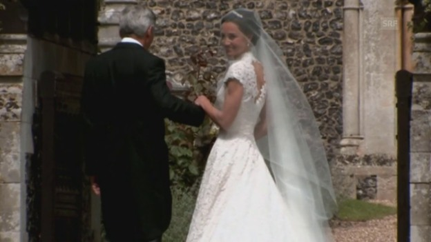 Video «Hochzeit von Pippa Middleton» abspielen