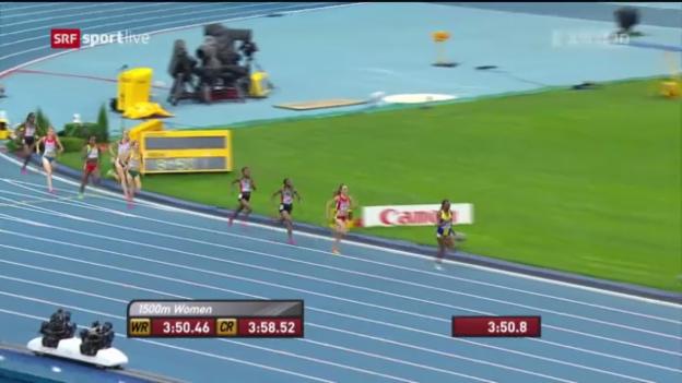 Video «LA-WM: Final Frauen 1500 m» abspielen