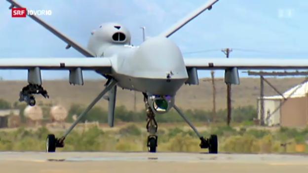 Video «Drohnenkrieg in Afghanistan» abspielen