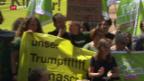 Video «Demo gegen Trump» abspielen