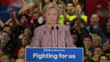 Video «Clinton spricht nach NY-Sieg zu Sanders-Anhängern» abspielen