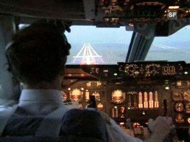 Der letzte Flug des Swissair-Jumbos