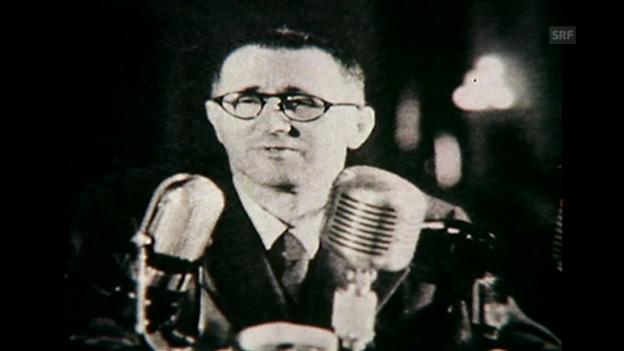 Video «Brechts Aufenthalt in der Schweiz 1933 und 1947, Monatsmagazin vom 18.6.76» abspielen