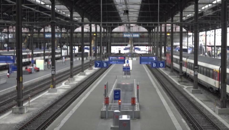Stellwerkstörung Bahnhof Basel