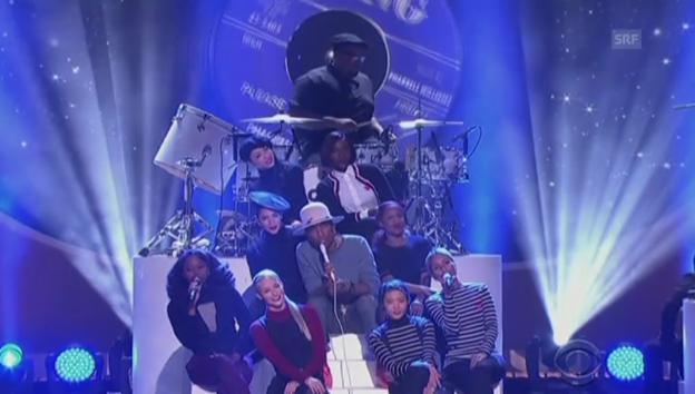 Video «Zusammenschnitt der «Grammy»-Pre-Show» abspielen