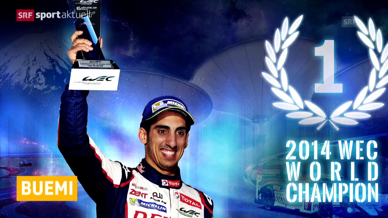 Automobil: WM-Titel für Buemi («sportaktuell»)