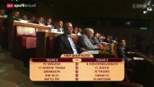 Video «Fussball: Auslosung Europa-League-Playoffs» abspielen