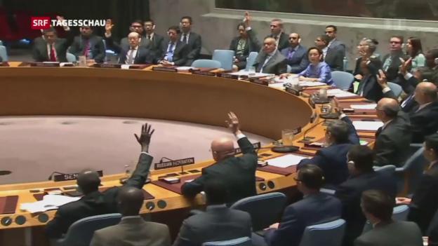 Video «Nach Sanktionen für Nordkorea: China stellt Forderungen» abspielen