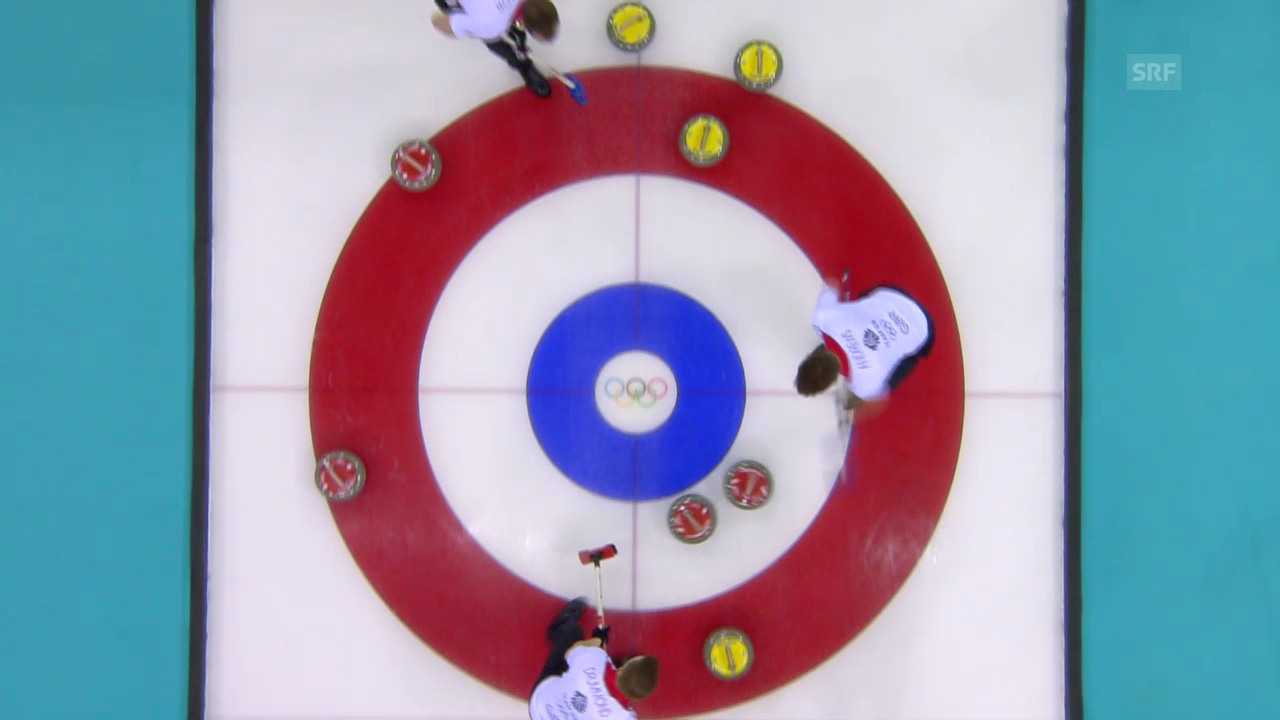 Curling: Tie-Breaker Session Männer, Norwegen - Grossbritannien (sotschi direkt, 18.2.2014)
