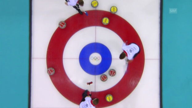 Video «Curling: Tie-Breaker Session Männer, Norwegen - Grossbritannien (sotschi direkt, 18.2.2014)» abspielen