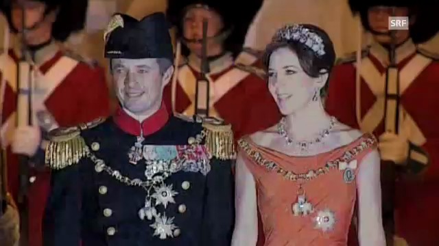 Die dänischen Royals begrüssen ihr Volk zum Neuen Jahr