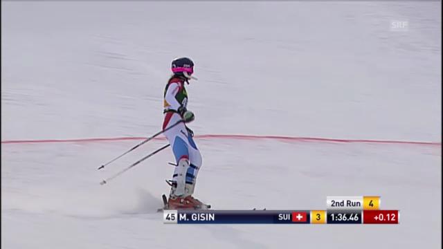 Ski: Der 2. Lauf von Michelle Gisin im Slalom in Maribor