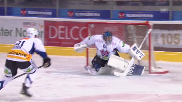 Video «Eishockey: Frühe Gegentore des EHC Biel» abspielen