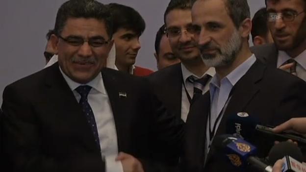 Video «Oppositioneller Hitto wird Syriens Übergangsregierungschef (unkomm.)» abspielen