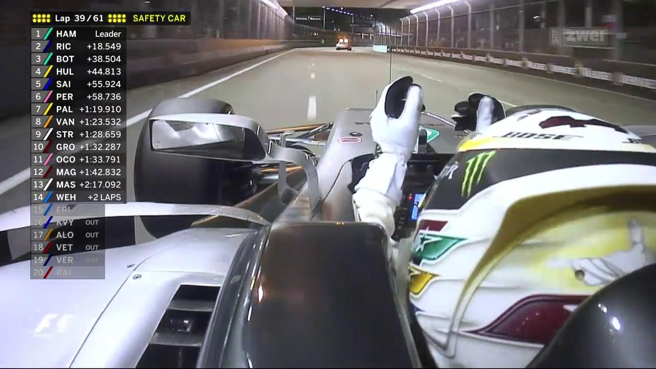 Formel 1: GP in Singapur