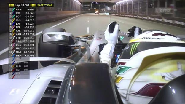 Video «Formel 1: GP in Singapur» abspielen