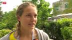 Video «Tennis: Vögele - Kanepi» abspielen