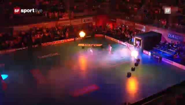 Unihockey-WM: Schweiz - Estland