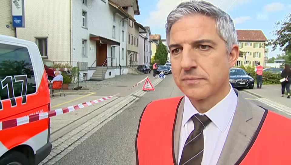 Polizeisprecher Gian Andrea Rezzoli zum Mord in St. Gallen