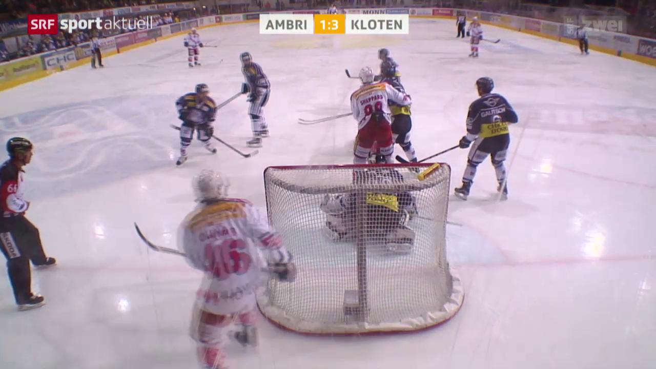 Eishockey: Ambri - Kloten