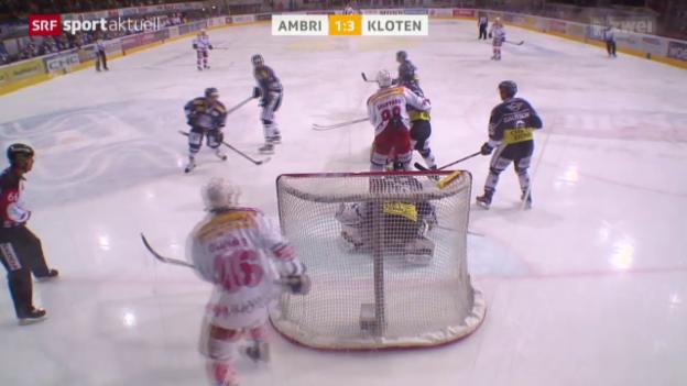 Video «Eishockey: Ambri - Kloten» abspielen