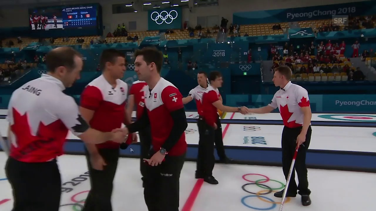 Schweizer Curler besiegen Kanada und holen Bronze